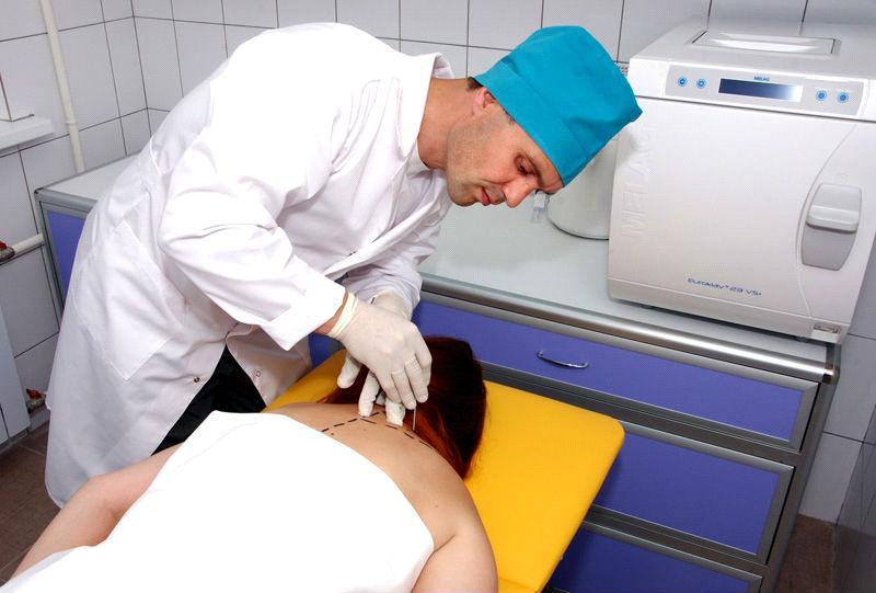 Начальное проявление шейного остеохондроза