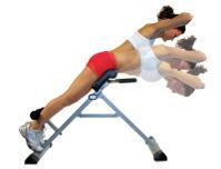 Упражнение на тренажере