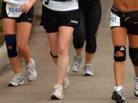 Бегуны с ортезами на коленях
