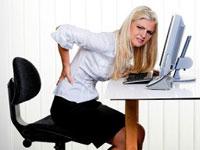 у девушки болит спина