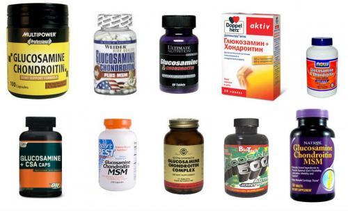 лекарства с хондроитином и глюкозамином