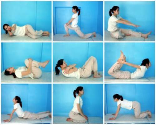 упражнений для укрепления спины