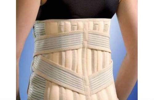 Фиксирующий спину ортопедический корсет