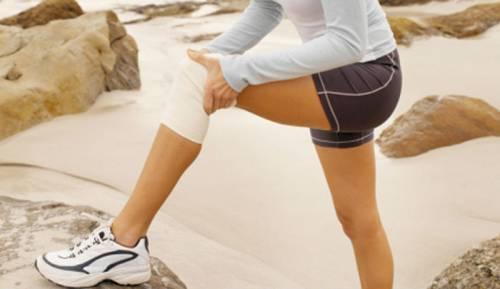 Эластическая повязка для колена