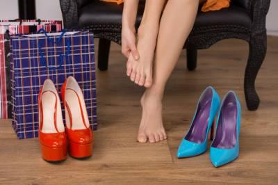 Боль в ногах от каблуков