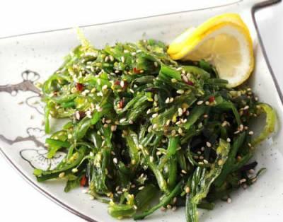 Салат с морской капусты