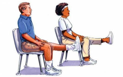 Упражнения для больных коленных суставов