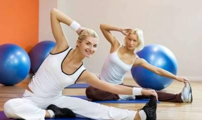 Занятия с лечебной гимнастики