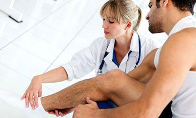 Перелом сустава лечение баней