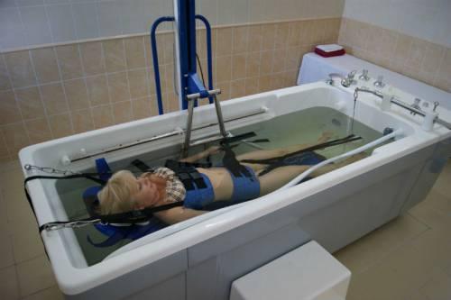 Подводная вытяжка позвоночника противопоказания