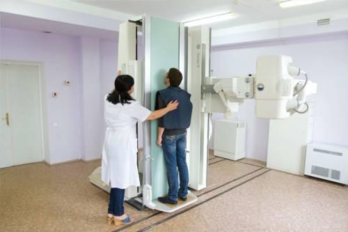 Проведение рентгенографии позвоночника
