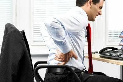 Боль в спине у офисного работника