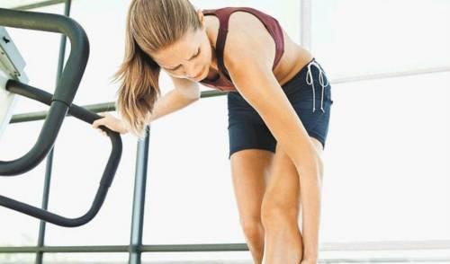 Боль в ногах у спортсменки