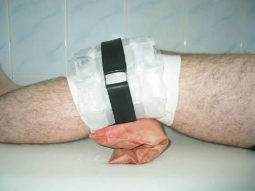 Охлаждающий компресс для коленного сустава