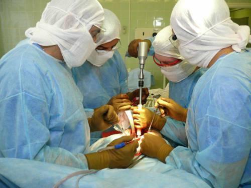 Операция на суставе