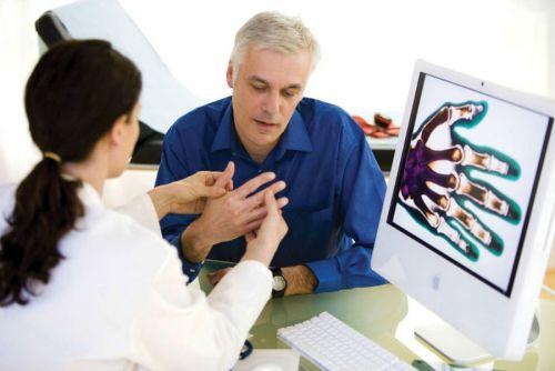 Заболевания кистей рук