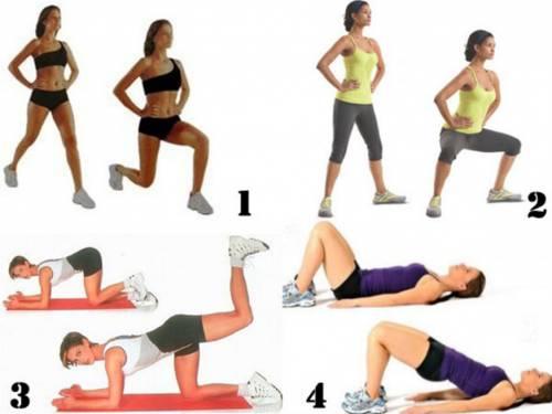 Комплекс упражнений для тазобедренного сустава