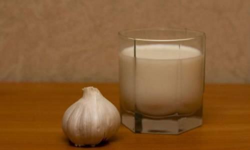 Молоко и чеснок