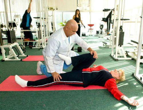Лечебная физкультура приболях в тазобедренном суставе