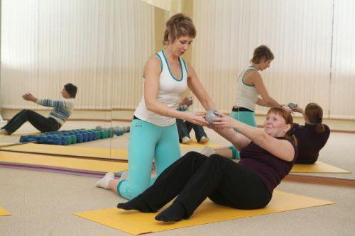 Выполнение гимнастики