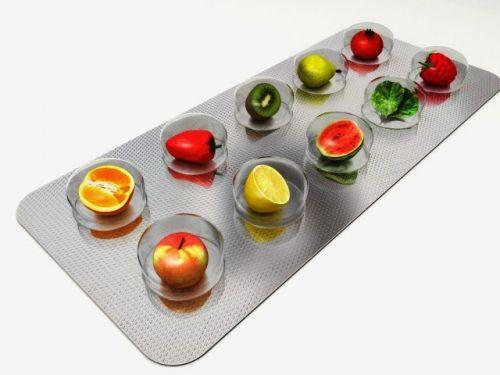 Таблетки-фрукты