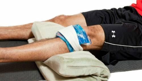 Компресс для коленного сустава