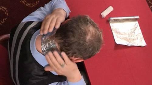 Фольга от боли в шее