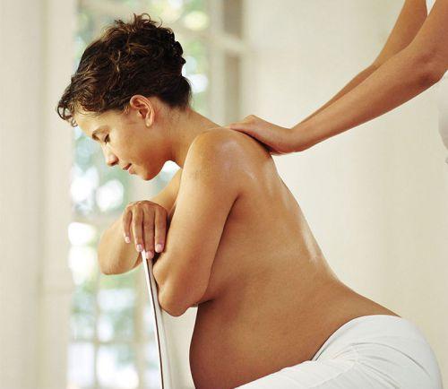 Массаж для беременной женщины