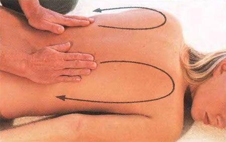 Массаж для спины