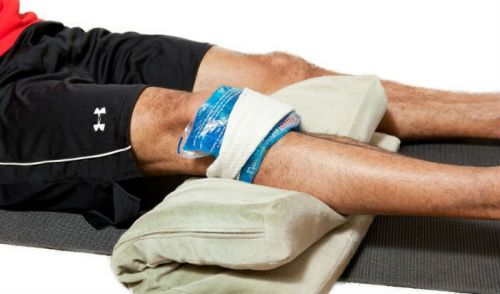Помощь при травме колена