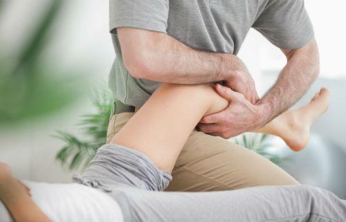 Массаж для коленных суставов