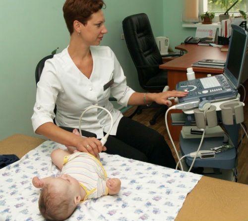 УЗИ тазобедренных суставов у ребенка