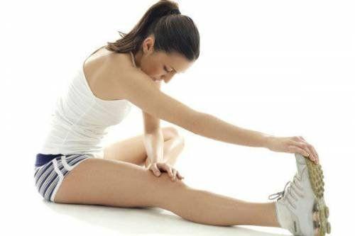 Растяжка мышц ноги