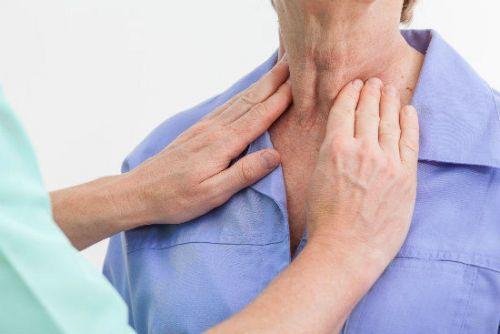 Пальпация щитовидной железы