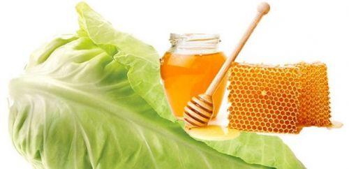 Мед и капуста