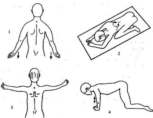Упражнения при люмбалгии