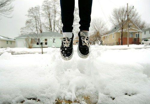 Кроссовки зимой