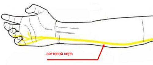 Локтевой нерв