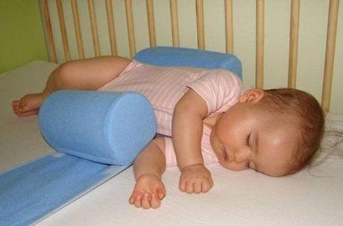 Валики-позиционеры для малыша