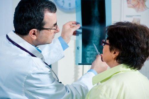 Оцнека рентгеновского снимка