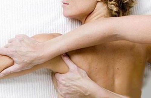 Массаж плечевой зоны