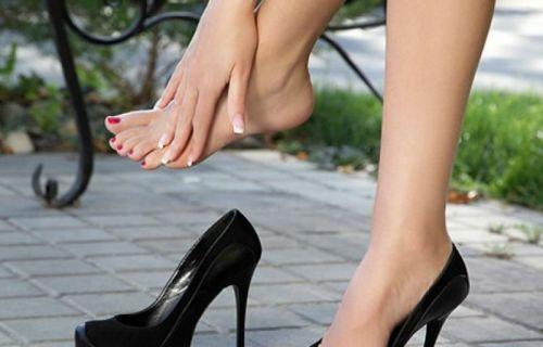 Ноги устали от ходьбы в туфлях
