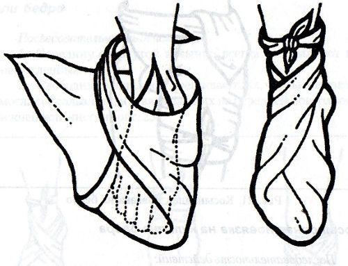 Косыночная повязка