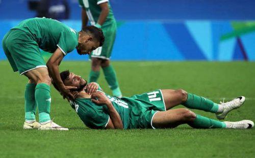 Футболист получил травму