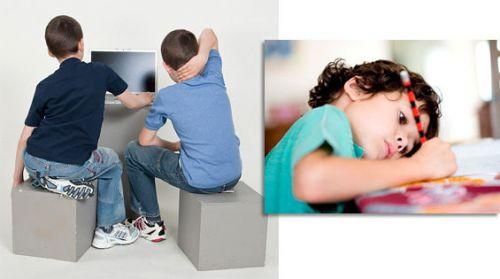 Дети криво сидят