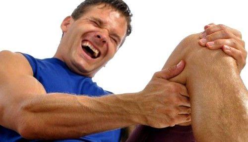 Ногу свело судорогой