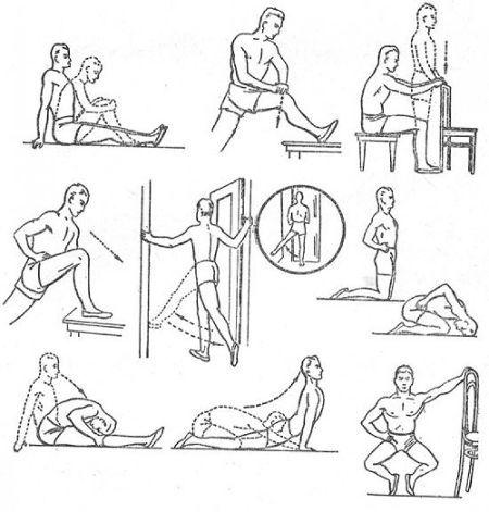 ЛФК для тазобедренного сустава