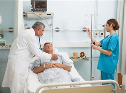 Человек в больнице