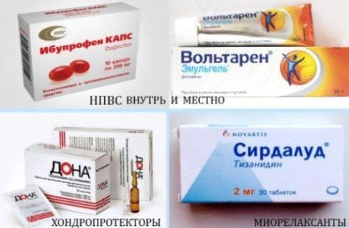 Препараты для лечения артроза