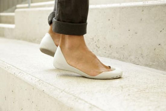 Ноги в балетках
